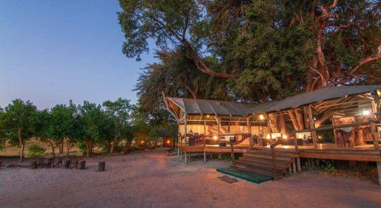 Kwando Little Kwara Camp View