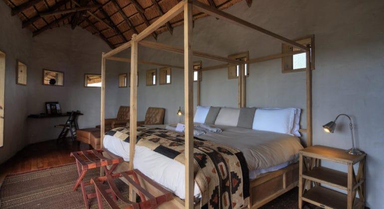 Kwando Tau Pan Camp Bedroom