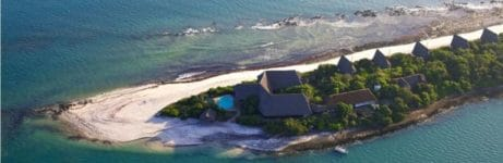 Lazy Lagoon Island Lodge Aerial View