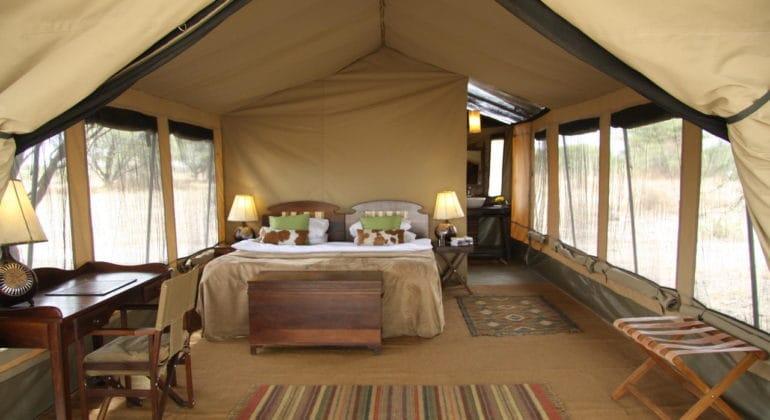 Manyara Tented Camp Guest Tent