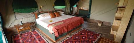 Platinum Camp Bedroom