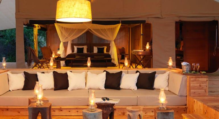 Serengeti Bushtops Sitting Area