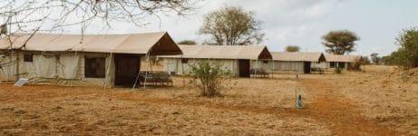 Tarangire Ndovu Camp Tents