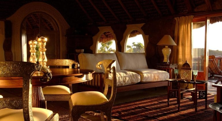 The Sanctuary At Ol Lentille Bedroom Lounge