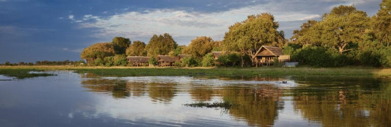 Belmond Khwai River Lodge View From River
