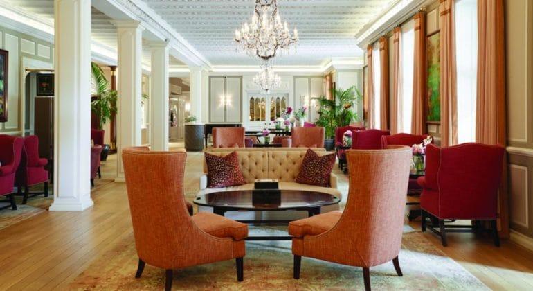 Belmond Mount Nelson Hotel Lounge