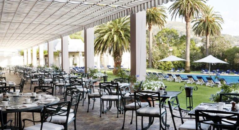 Belmond Mount Nelson Hotel Verandah