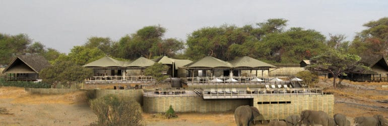 Belmond Savute Elephant Lodge Exterior View