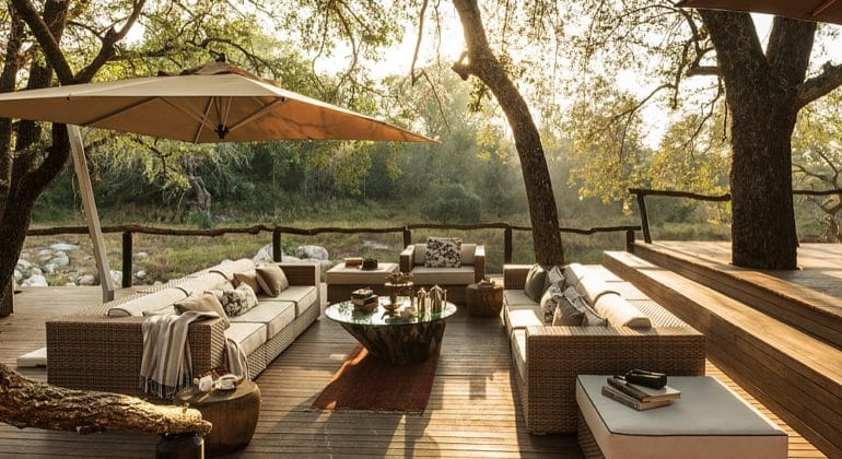 Dulini Lodge Outdoor Lounge
