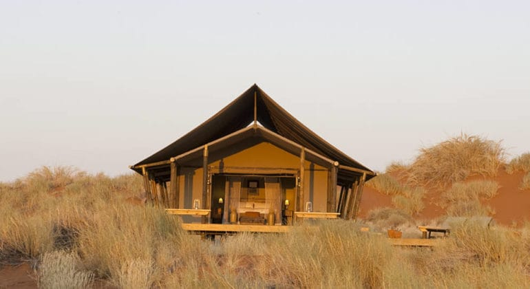 Dune Camp Front View