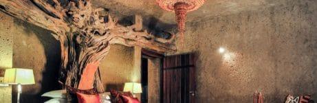 Earth Lodge Presidential Suite Bedroom