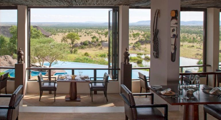 Four Seasons Serengeti Dining