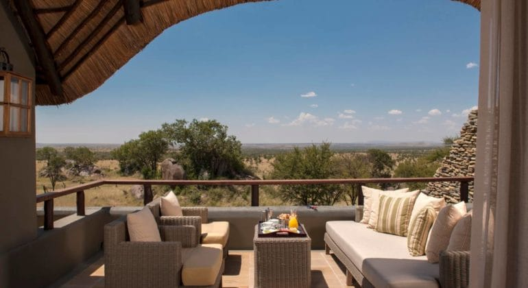 Four Seasons Serengeti Verandah