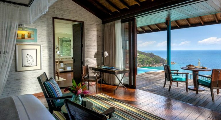 Four Seasons Seychelles Bedroom