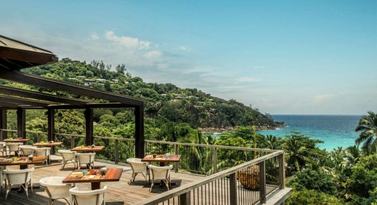Four Seasons Seychelles Dining Verandah