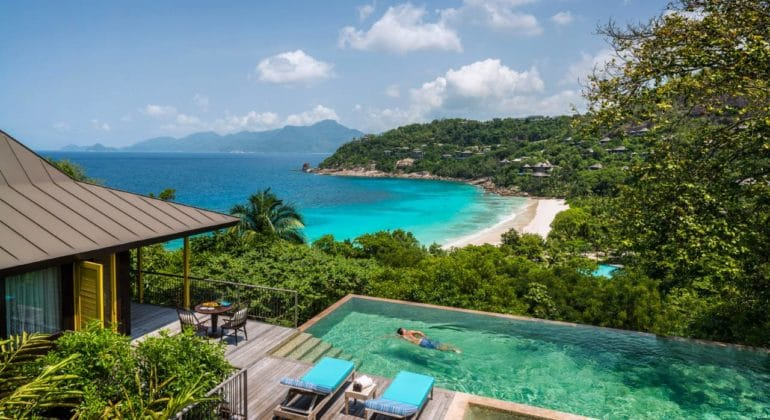 Four Seasons Seychelles Pool