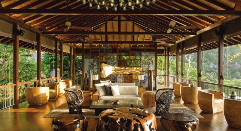 Four Seasons Seychelles Sitting Area