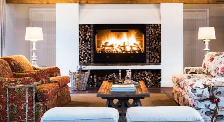 Galenia Estate Fireplace