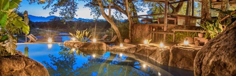 Kuname Lodge Poolside