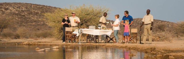 Safarihoek Outdoor Dining