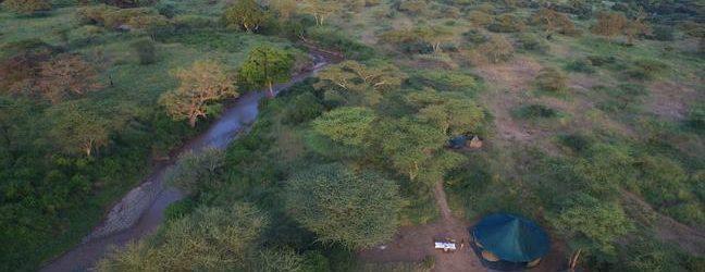Wayo Banagi Green Camp Aerial View