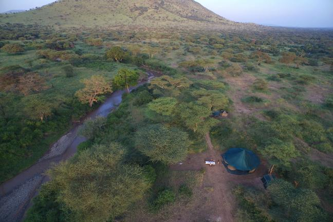 Wayo Banagi Green Camp Aerial View