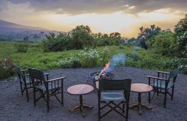 Bukima Tented Camp Campfire