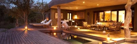Chitwa House Pool Deck