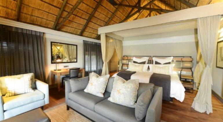 Chobe Water Villas Bedroom