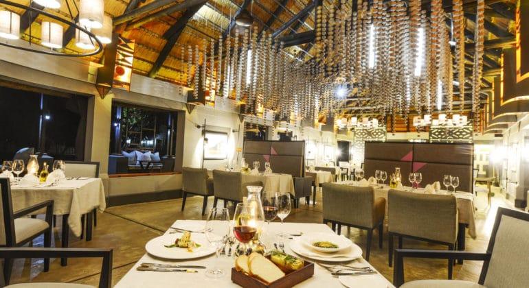 Chobe Water Villas Dining