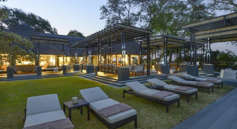 Chobe Water Villas Pool Lounge