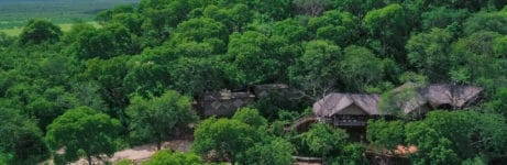 Ghoha Hills Savuti Lodge View In Summers