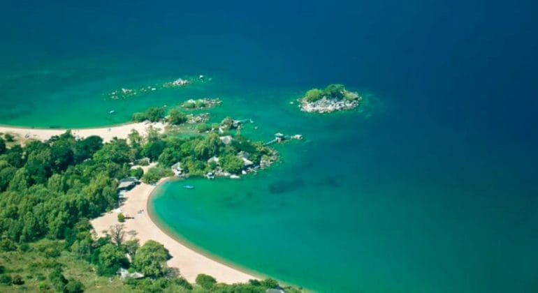 Kaya Mawa Aerial View