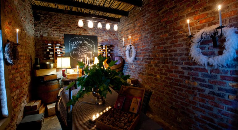 Lairds Lodge Wine Room