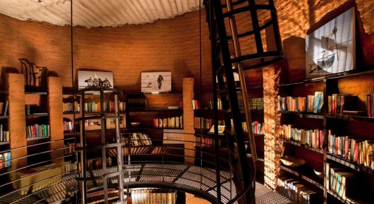 Leobo Private Reserve Library