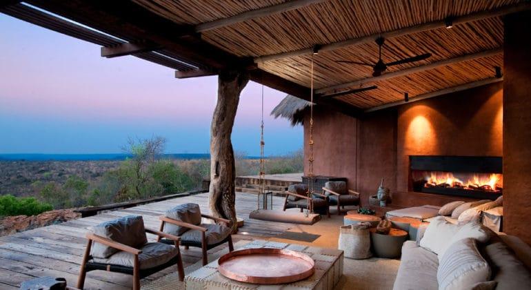 Leobo Private Reserve Sitting Area