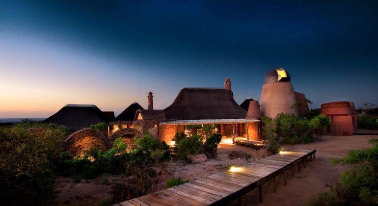 Leobo Private Reserve View At Night