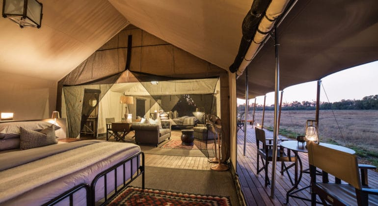 Little Machaba Camp Family Tent