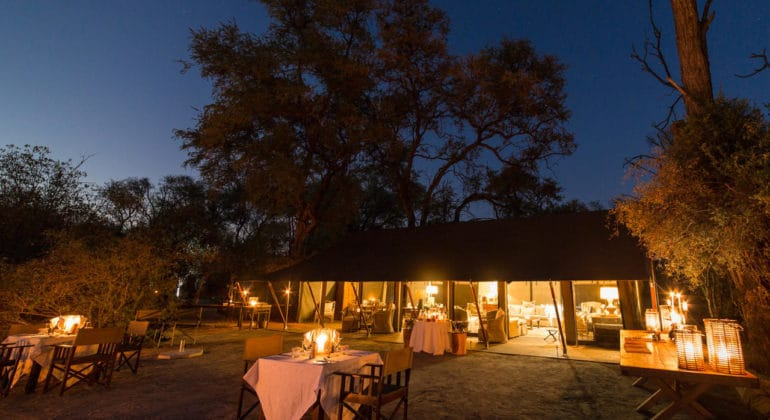 Little Machaba Camp Main Area