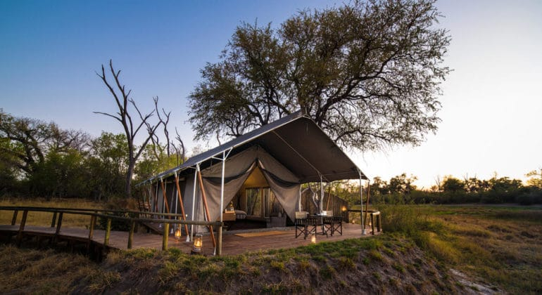 Little Machaba Camp Suite Tent