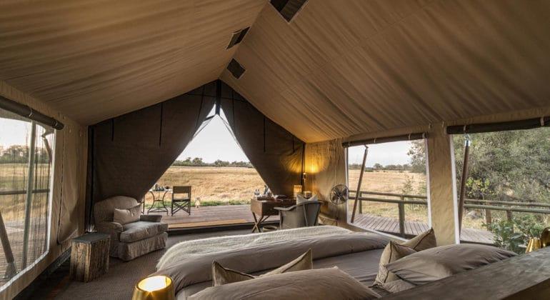 Little Machaba Camp Tent Interiors
