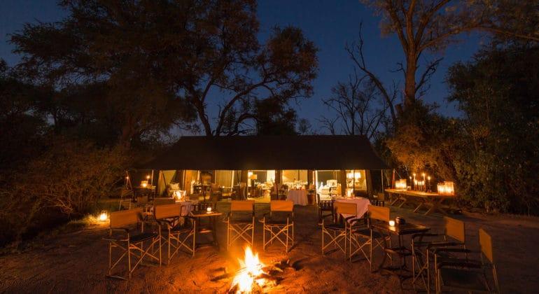 Machaba Camp Campfire
