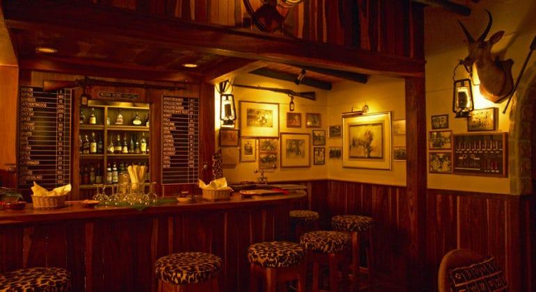 Malamala Main Camp Bar