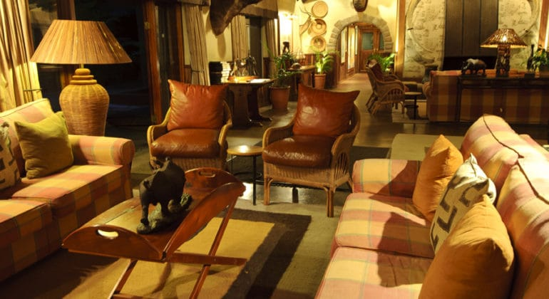 Malamala Main Camp Lounge 1
