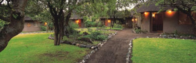 Mashatu Lodge Entrance