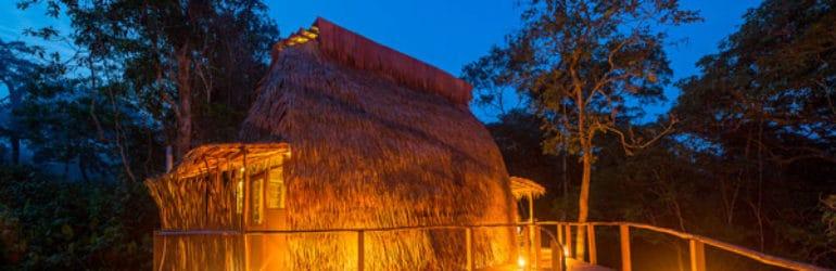 Ngaga Camp Tent Exterior