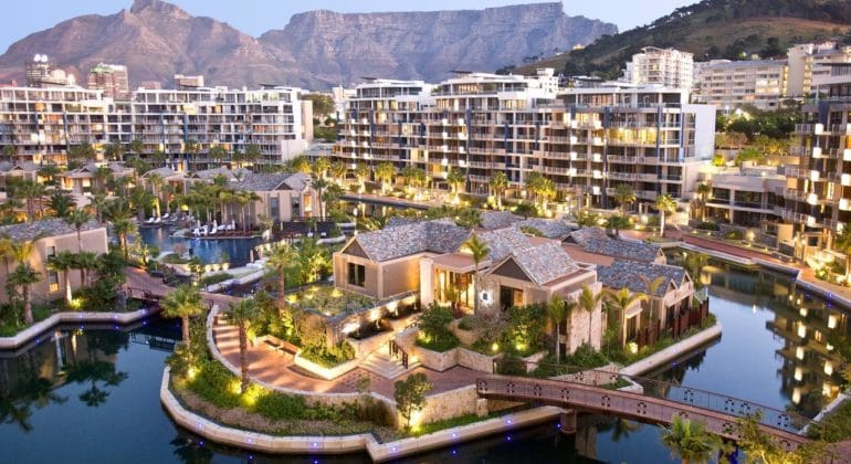 One & Only Cape Town Spa Island View