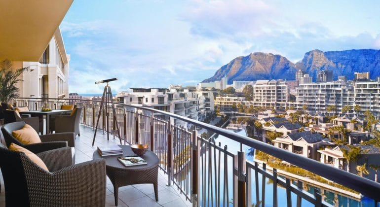One & Only Cape Town Suite Balcony