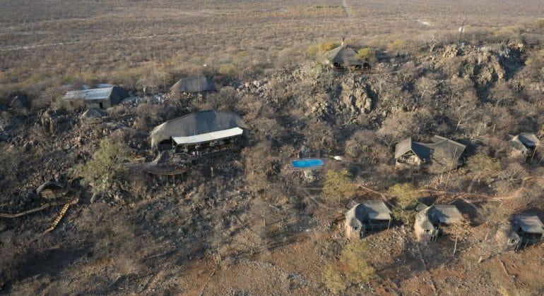 Ongava Lodge Aerial View