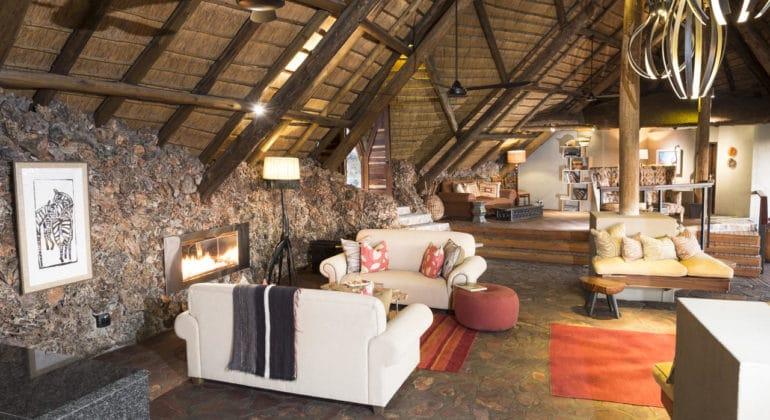 Ongava Lodge Lounge